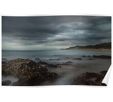 Cloudy Kingscliff Poster