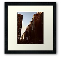 E 13th Ave. Framed Print