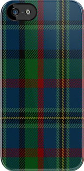 01551 Amarillo District Tartan Fabric Print Iphone Case by Detnecs2013