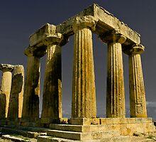 The Temple of Zeus by photosbyflood