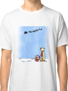 calvin and hobbes holiday  Classic T-Shirt