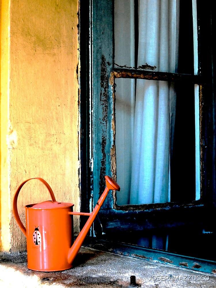 the open window.. by JOSEPHMAZZUCCO