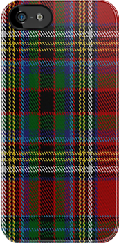 01557 Anderson of Ardbrake Clan/Family Tartan Fabric Print Iphone Case by Detnecs2013