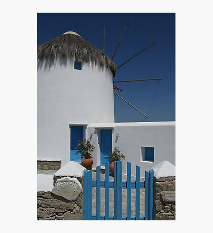 Greek Charm Photographic Print