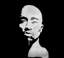 Tupac Graffiti by Emily Pohnan