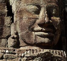The Face of Bayon by Nikki V