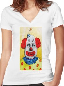 The Cakes Twins Women's Fitted V-Neck T-Shirt