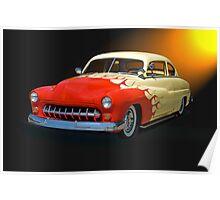 1949 Mercury Custom Poster