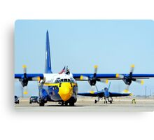 U. S. Navy Blue Angels' Fat Albert Canvas Print