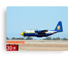 U.S. Navy Blue Angels' Fat Albert Canvas Print