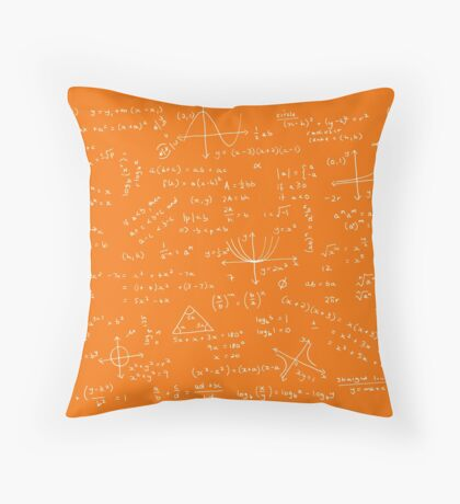 Algebra Math Sheet 3 Throw Pillow