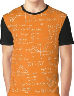 Algebra Math Sheet 3 Graphic T-Shirt