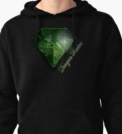 Dungeon Realms Emerald Hoodie Pullover Hoodie