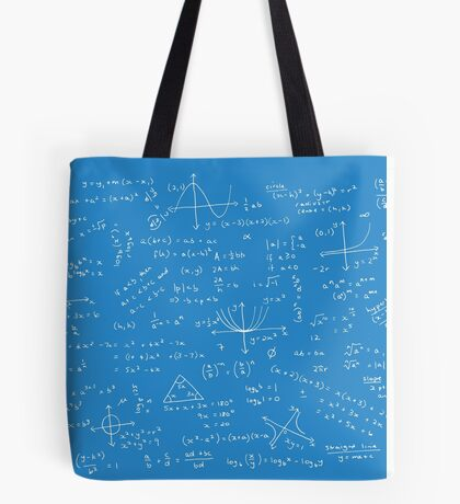 Algebra Math Sheet 2 Tote Bag