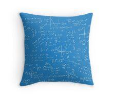 Algebra Math Sheet 2 Throw Pillow