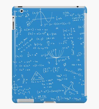 Algebra Math Sheet 2 iPad Case/Skin