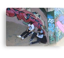 Smoke and spraypaint - North Rocks (Sydney) 2009 Canvas Print
