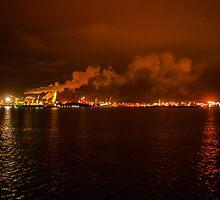 Industrial glow by Justin Beverstock