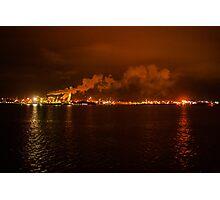 Industrial glow Photographic Print