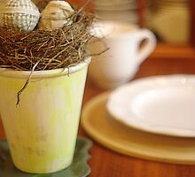 Spring Table by Arteffecting