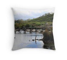 Edge of Lake Pedder - (Tasmania) 2013 Throw Pillow