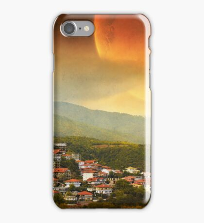 Red Dawn V iPhone Case/Skin