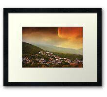 Red Dawn V Framed Print