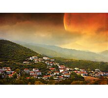 Red Dawn V Photographic Print