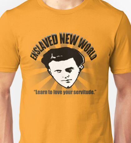 Aldous Huxley's Enslaved New World (Light) Unisex T-Shirt