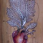 Sea Fan Heart by Fay Helfer