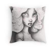 THE FARRAH FAWCETT LOOK Throw Pillow