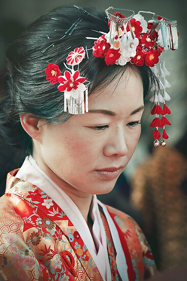 DANS LE JAPON TRADITIONNEL #5 | IN TRADITIONAL JAPAN #5 by Valerie Fujita