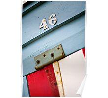 Hinged 46  - Brighton Beach Boxes - Australia Poster
