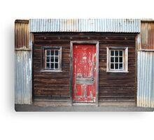 """""""The Red Door"""" Canvas Print"""