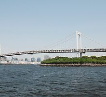 Tokyo Bridge With Island by jojobob