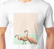 Flamingo Pastel Art #redbubble #buyart #lifestyle 3fashion Unisex T-Shirt