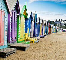 Location, Location, Location - Brighton Beach Boxes - Australia by Norman Repacholi