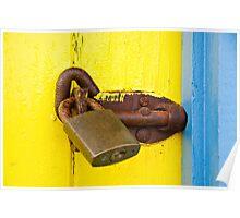 Locked Up  - Brighton Beach Boxes - Australia Poster