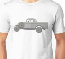 Ford Coupe 304 b&w Unisex T-Shirt