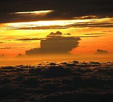Sunrise over Mt Kinabalu by Hansipan