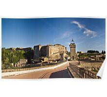 Sorano, Tuscany Poster