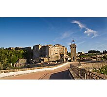 Sorano, Tuscany Photographic Print