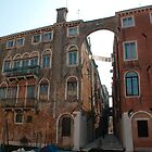 Arched Backstreet, Venice by jojobob