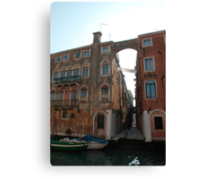 Arched Backstreet, Venice Canvas Print
