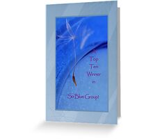 Banner - SB - Top Ten Winner Greeting Card