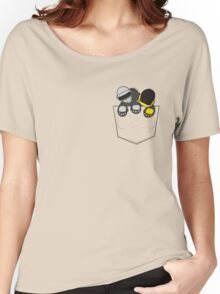 Robots In My Pocket! Women's Relaxed Fit T-Shirt