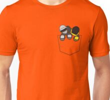 Robots In My Pocket! Unisex T-Shirt