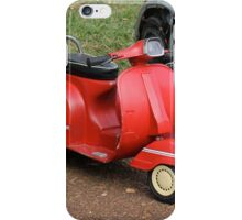 The Scooter iPhone Case/Skin