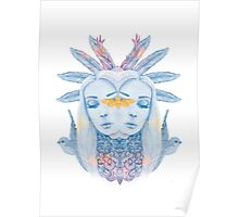 Feather princess has two sides Poster