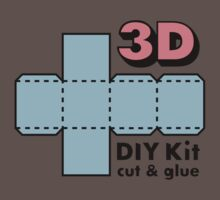3D Do it Yourself Kit by chrisbears